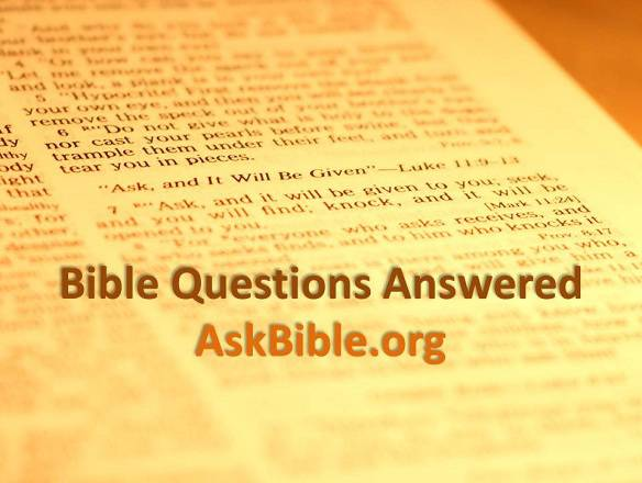 Bible Questions Answered - Ask a Bible Question